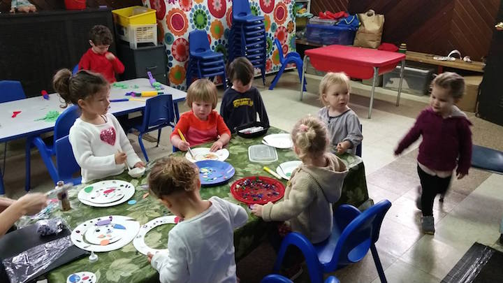Preschool arts and crafts
