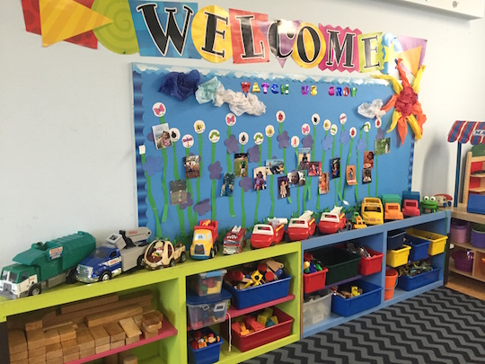 Preschool toy area